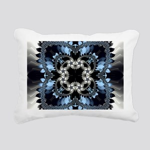 Fragment Pattern Rectangular Canvas Pillow