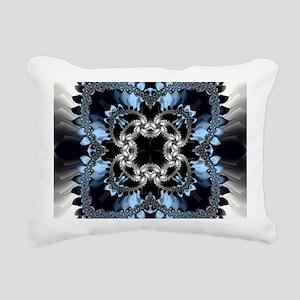Fragment Pattern Rectangular Canvas Pillow