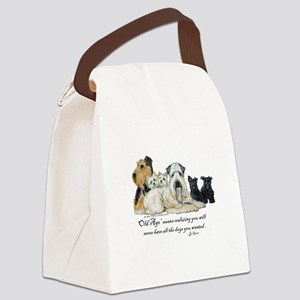 Love Dogs Canvas Lunch Bag