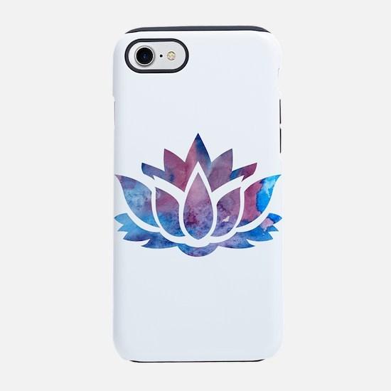 Lotus flower iPhone 7 Tough Case