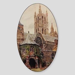 Canterbury Sticker (Oval)