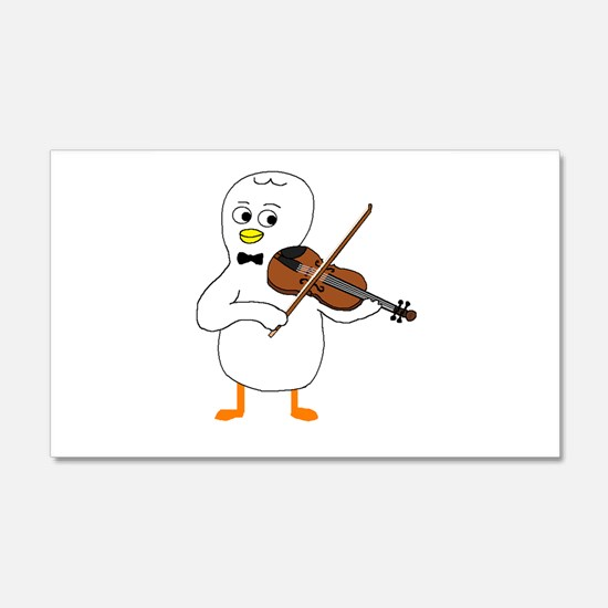 Violinist Wall Decal