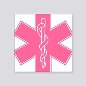 Pink Star of Life Sticker