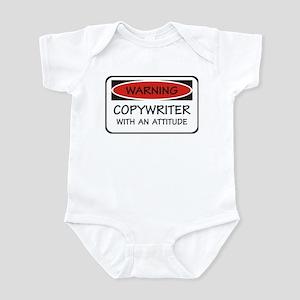 Attitude Copywriter Infant Bodysuit