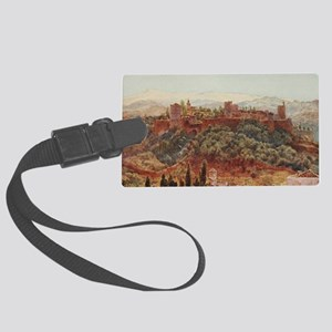 The Alhambra at Granada, Spain Large Luggage Tag