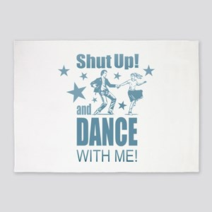 Shut Up and Dance 5'x7'Area Rug