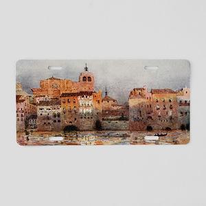 Tortosa, Spain - Village Vi Aluminum License Plate