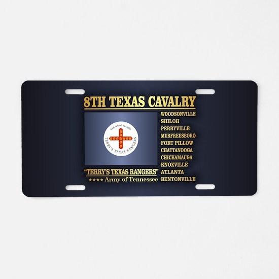 8th Texas Cavalry (BH2) Aluminum License Plate