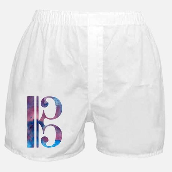 Unique Alto clef Boxer Shorts