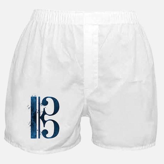 Cool Alto clef Boxer Shorts