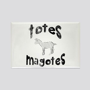 Totes Magotes Rectangle Magnet