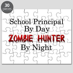School Principal/Zombie Hunter Puzzle