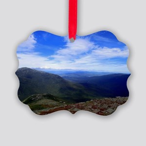 Mt. Washington on a Clear Day Picture Ornament