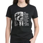 Al Gore Firearm Safety Expert Women's Dark Tee
