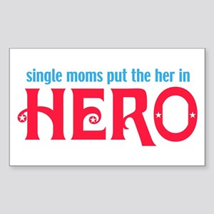 Moms Rectangle Sticker