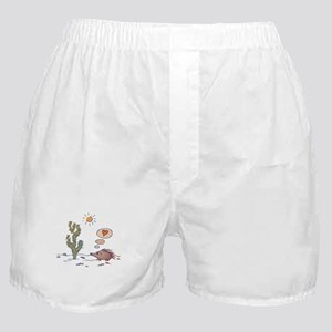 Porcupine & Cactus Love Cartoon Boxer Shorts