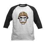 Army Skeleton Baseball Jersey