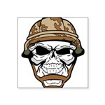 Army Skeleton Sticker