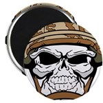 Army Skeleton Magnets