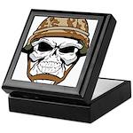 Army Skeleton Keepsake Box