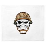 Army Skeleton King Duvet