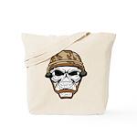 Army Skeleton Tote Bag