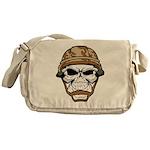 Army Skeleton Messenger Bag