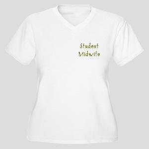 Student Midwife Women's Plus Size V-Neck T-Shirt