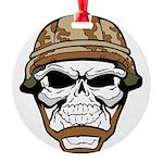 Army Skeleton Ornament