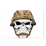 Army Skeleton Postcards (Package of 8)