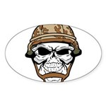 Army Skeleton Sticker