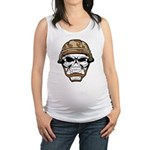 Army Skeleton Maternity Tank Top