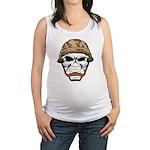 Army Skeleton Maternity Tank Top