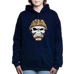 Army Skeleton Hooded Sweatshirt