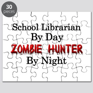 School Librarian/Zombie Hunter Puzzle
