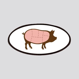 Pig Meat Cuts Patches