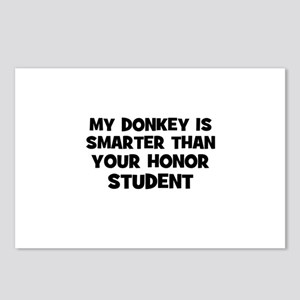 my donkey is smarter than you Postcards (Package o