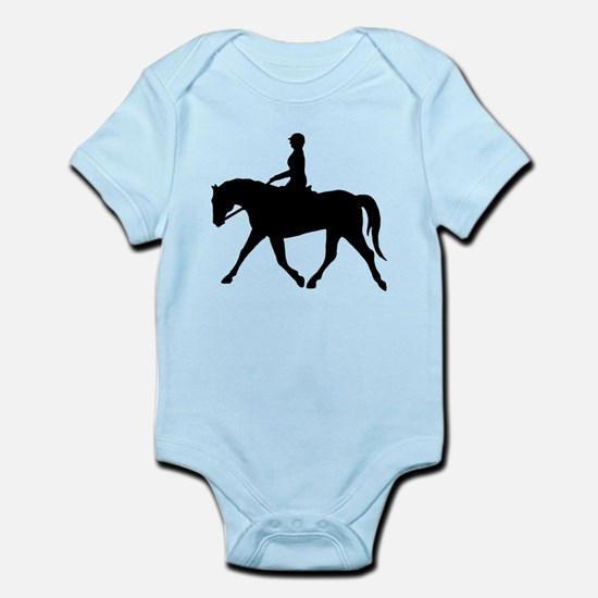 Horse Rider Infant Bodysuit