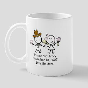 Wedding - Steven & Tracy Mug