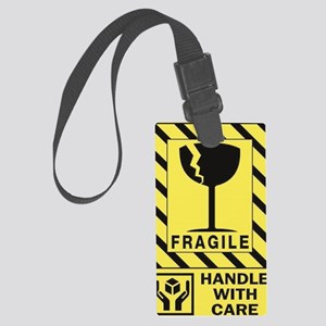 Fragile Large Luggage Tag