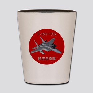 F-15 Eagle JASDF Shot Glass