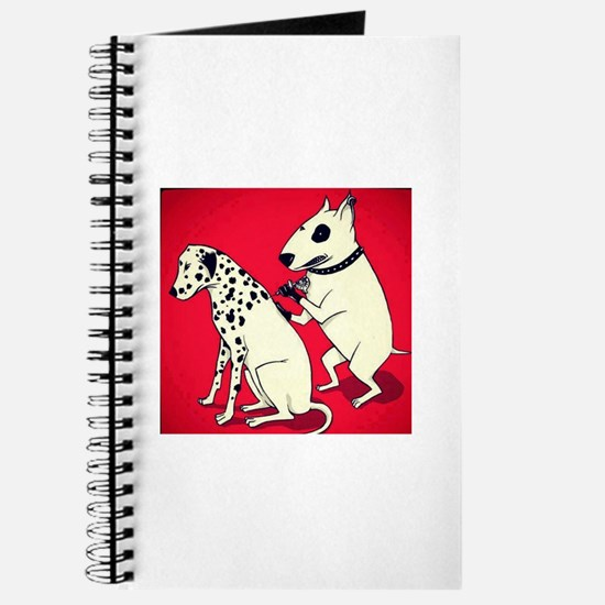 Dalmatian Getting Some Ink Journal