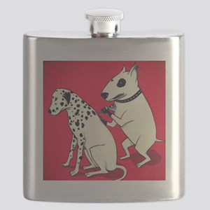 Dalmatian Getting Some Ink Flask
