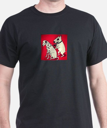 Dalmatian Getting Some Ink T-Shirt