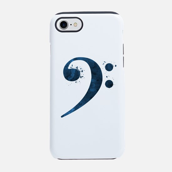 Bass Clef iPhone 7 Tough Case