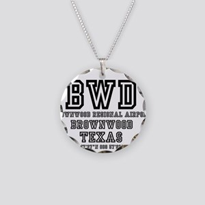 US - TEXAS - AIRPORT CODES - Necklace Circle Charm