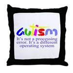Autism - Its not a processing error Throw Pillow