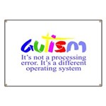 Autism - Its not a processing error Banner