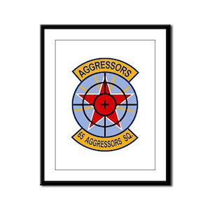 65th Aggressor Squadrons Framed Panel Print