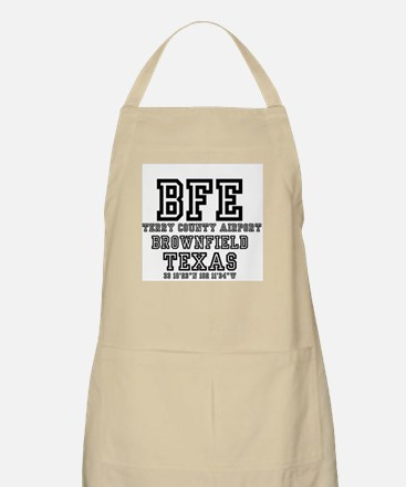 US - TEXAS - AIRPORT CODES - BFE - TER Light Apron